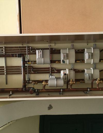 Centralització comptadors de gas aprofitant petits espais